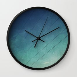 Power Lines & Sky Wall Clock