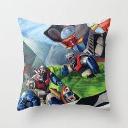 Mazinger Z Throw Pillow