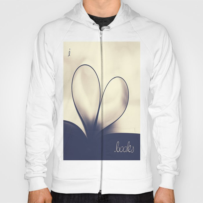 I Heart Books Hoody