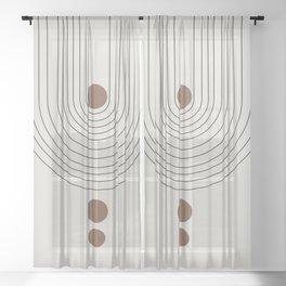 Balance III Sheer Curtain