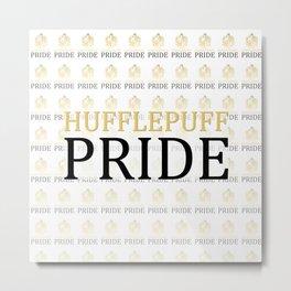 Hufflepuff Pride Metal Print