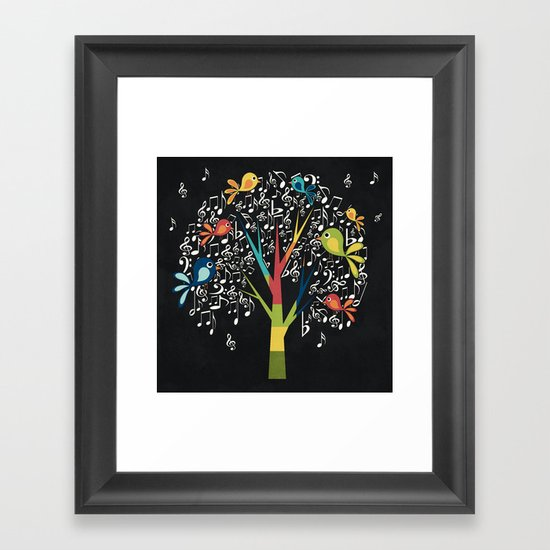Song Birds Framed Art Print