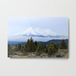 Misty Mountains Metal Print