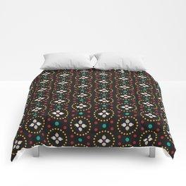 Blooming Dots Comforters