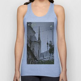 Suzdal, Russia. Church Reflection Unisex Tank Top