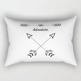 Adventure x Arrows Rectangular Pillow