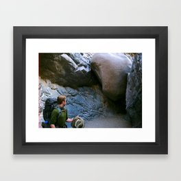 The Way is Blocked Framed Art Print