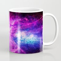 nebula Mugs featuring nebuLA by 2sweet4words Designs