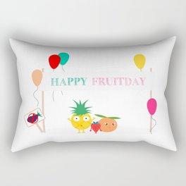 Happy fruitday Rectangular Pillow