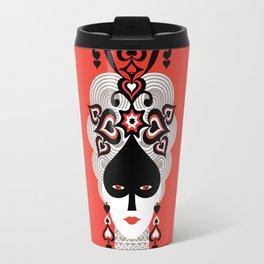 The Queen of spades Travel Mug