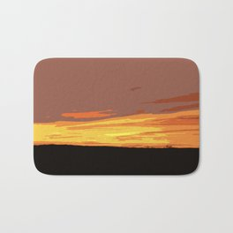 Serengeti Sunset Bath Mat