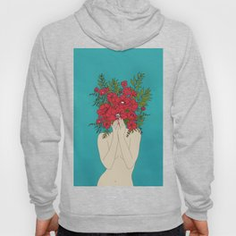 Blooming Red Hoody