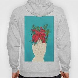 Blooming Red Hoodie