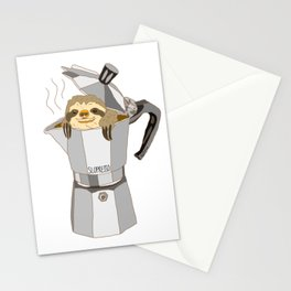 Sloth Espresso SLOPRESSO Stationery Cards