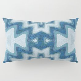 Sand Painting Geometric Waves Pillow Sham
