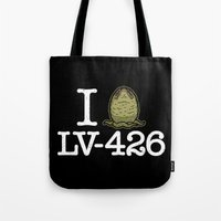I Love LV-426 Tote Bag