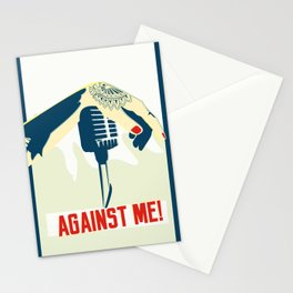 Against me! fan art Stationery Cards