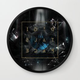 DigitalSpace Wall Clock