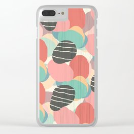 Abstract3 Clear iPhone Case