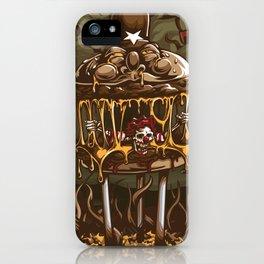 Hamburger Hell iPhone Case