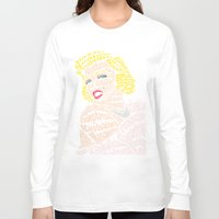 bible verse Long Sleeve T-shirts featuring Marilyn Verse by Kaitlyn Brown