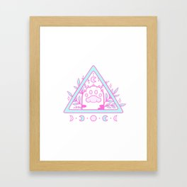 Witchy Cat Paw 02 Framed Art Print