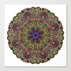 Hallucination Mandala 1 Canvas Print