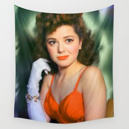 Ann Rutherford Wall Tapestry