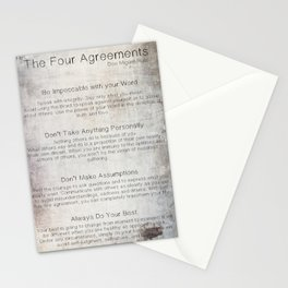 The Four Agreements 7 Stationery Cards