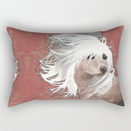 Chinese Crested  Rectangular Pillow