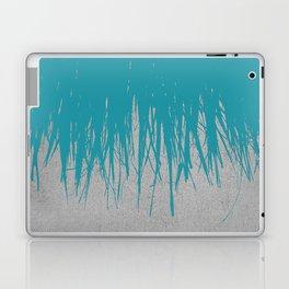 Concrete Fringe Teal Laptop & iPad Skin