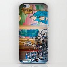Asakusa Bike Rack iPhone & iPod Skin
