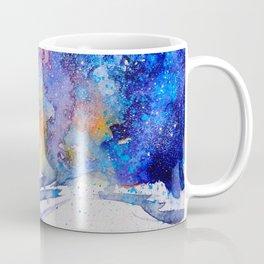 Midnight Galaxy Road watercolour by CheyAnne Sexton Coffee Mug