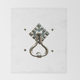 Firenze | Door Knocker Series Throw Blanket