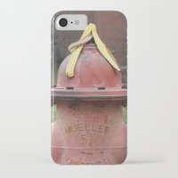 hat iPhone & iPod Cases featuring Hat by Caren Lewis