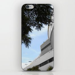 Paris black and white with color iPhone Skin