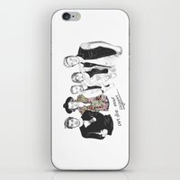 one direction iPhone & iPod Skins featuring One Direction by Stephanie Recking