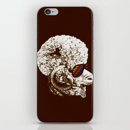 Funky sheep iPhone Skin
