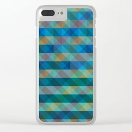 Background Overlap Clear iPhone Case