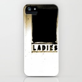 A real Lady  iPhone Case