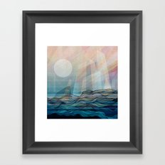 Arctic morning Framed Art Print
