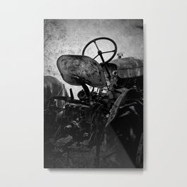 The Retired Seat Metal Print