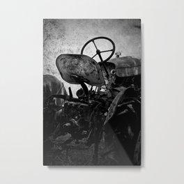 The Retired Seat Metal Print