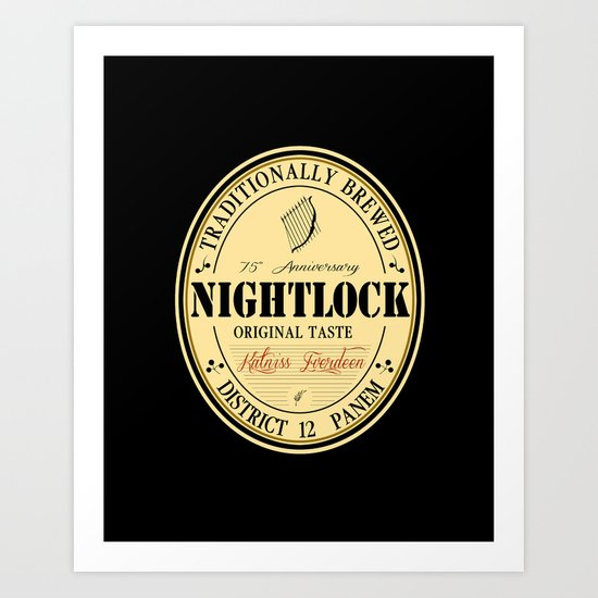 Lovely day for a Nightlock Art Print