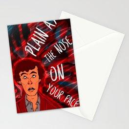 Mycroft's Nose Stationery Cards