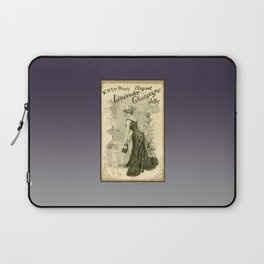 Kitty Pearl's Elegant Lavender Champagne Jelly Laptop Sleeve