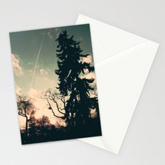 Cold winter's sun Stationery Cards