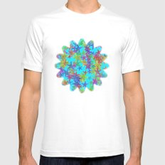 Starfish Parade MEDIUM Mens Fitted Tee White