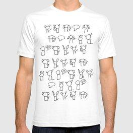 Comics Pattern T-shirt