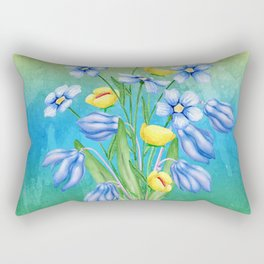 Flowers Bouquet #23 Rectangular Pillow